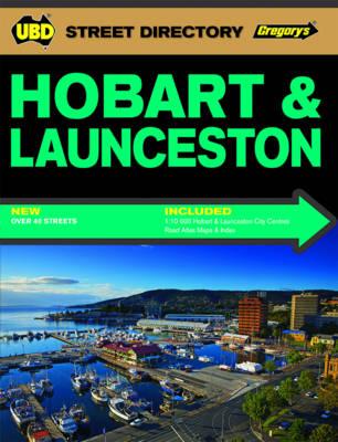 Hobart & Launceston Street Directory 3rd ed by UBD Gregorys
