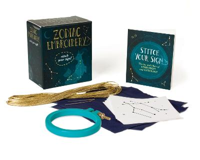 Zodiac Embroidery: Stitch Your Sign! by Anna Fleiss