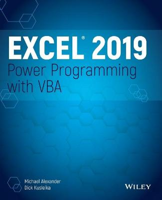 Excel 2019 Power Programming with VBA book