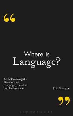Where is Language? by Ruth Finnegan
