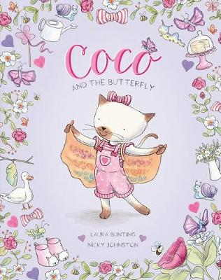 Coco and the Butterfly by Laura Bunting