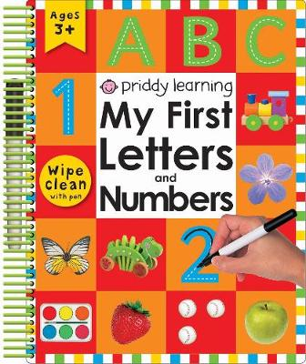 My First Letters and Numbers by Roger Priddy