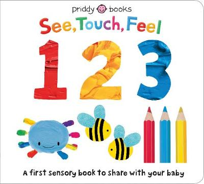 See Touch Feel 123 by Roger Priddy
