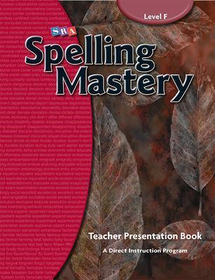 Spelling Mastery Level F, Teacher Materials book