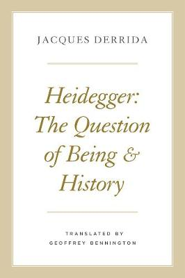 Heidegger: The Question of Being and History book