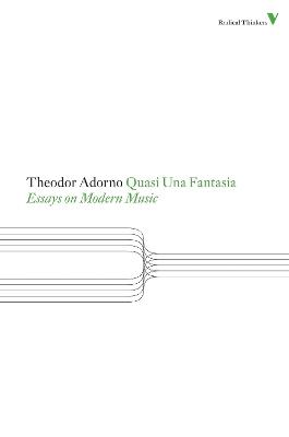 Quasi Una Fantasia by Theodor W. Adorno