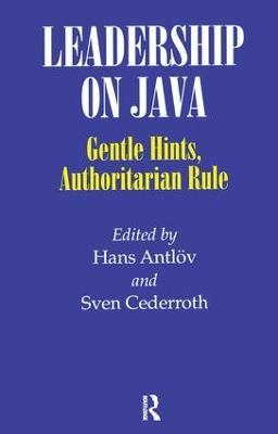 Leadership on Java by Hans Antlov