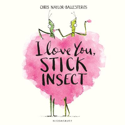 I Love You, Stick Insect book