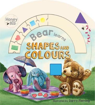 Honey Pot Bear Learns Shapes and Colours Abacus Book by Garry Fleming