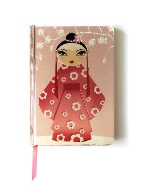 Kimono Girl (Contemporary Foiled Journal) by Flame Tree Studio