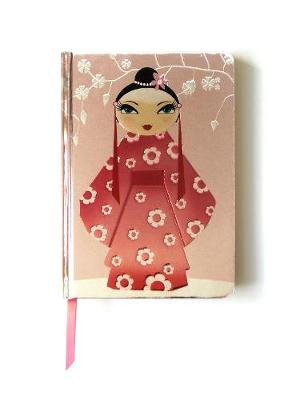 Kimono Girl (Contemporary Foiled Journal) by Flame Tree Studio
