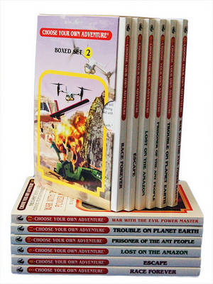 6-Book Box Set, No. 2 Choose Your Own Adventure Classic 7-12 book
