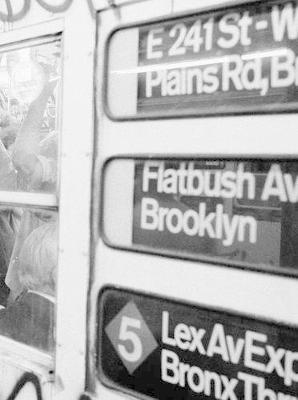 Train NYC, 1984 book