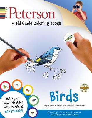 Peterson Field Guide Coloring Books: Birds by Peter Alden