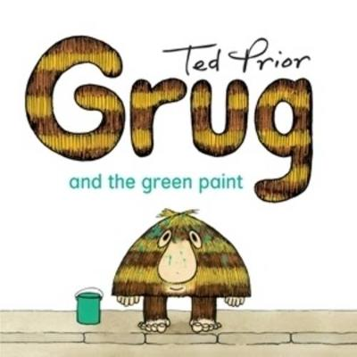Grug and the Green Paint book