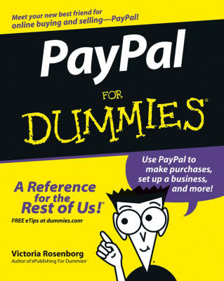 PayPal For Dummies by Victoria Rosenborg