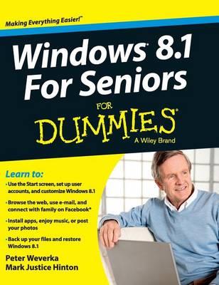 Windows 8.1 for Seniors for Dummies by Peter Weverka