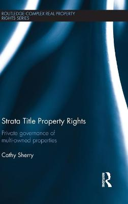 Strata Title Property Rights book