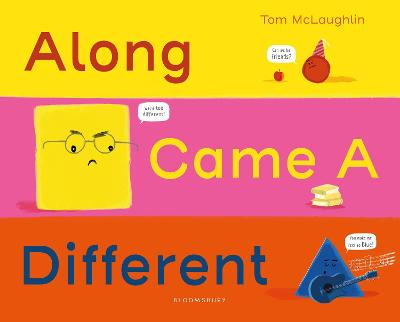 Along Came a Different book
