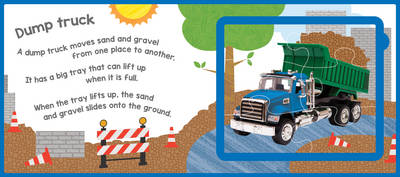Trucks and Diggers Puzzle Book by Lake Press