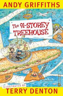 The 91-Storey Treehouse book