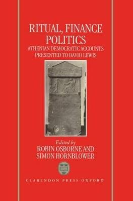 Ritual, Finance, Politics book