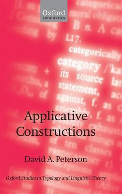 Applicative Constructions by David A. Peterson