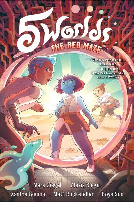 5 Worlds Book 3: The Red Maze book