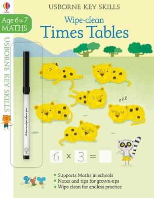 Wipe-Clean Times Tables 6-7 by Holly Bathie