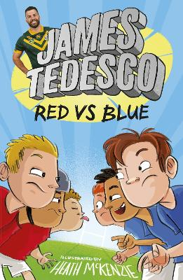 Red vs Blue by James Tedesco