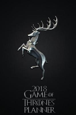 2018 Game of Thrones Planner - House of Baratheon by Pyramid Planners