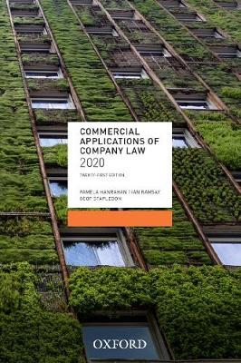 Commercial Applications of Company Law 2020 by Pamela Hanrahan