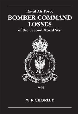 RAF Bomber Command Losses of the Second World War book