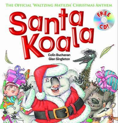 Santa Koala + CD book
