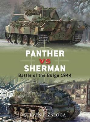 Panther Vs Sherman by Steven J. Zaloga