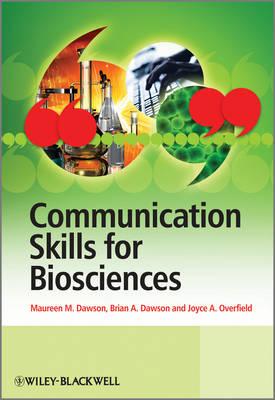 Communication Skills for Biosciences by Brian Dawson