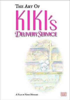 Art of Kiki's Delivery Service by Hayao Miyazaki