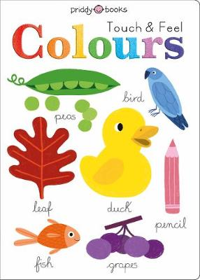 Touch and Feel Colours book