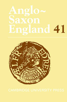 Anglo-Saxon England: Volume 41 by Malcolm Godden