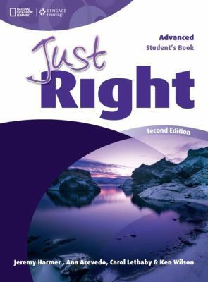 Just Right Advanced book