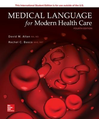 Medical Language for Modern Health Care by David Allan