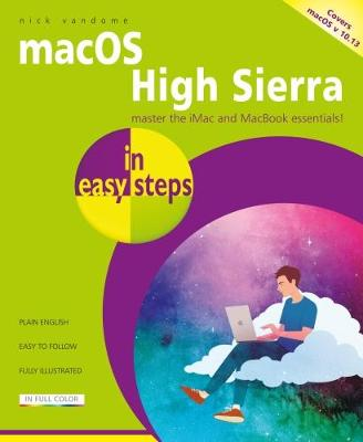 macOS High Sierra in easy steps by Nick Vandome