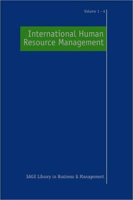 International Human Resource Management by Professor Paul R. Sparrow
