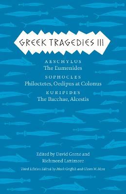 Greek Tragedies 3 book