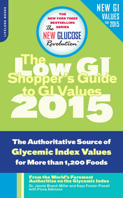 The Shopper's Guide to GI Values by Kaye Foster-Powell