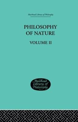 Hegel's Philosophy of Nature book