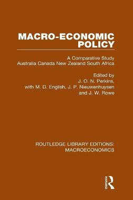 Macro-Economic Policy by J. P. Nieuwenhuysen