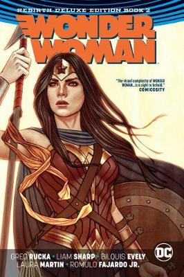 Wonder Woman The Rebirth Deluxe Edition Book 2 by Greg Rucka