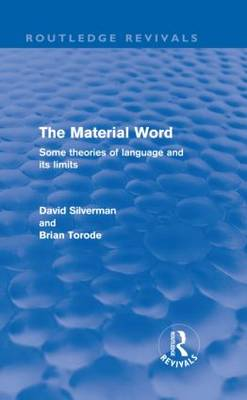 The Material Word by David Silverman