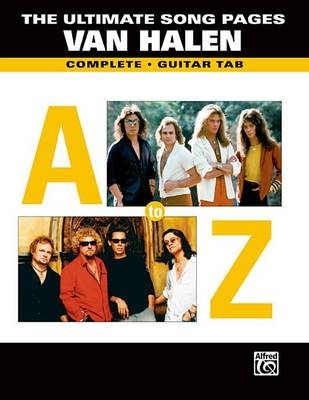 Ultimate Song Pages Van Halen -- A to Z by Van Halen